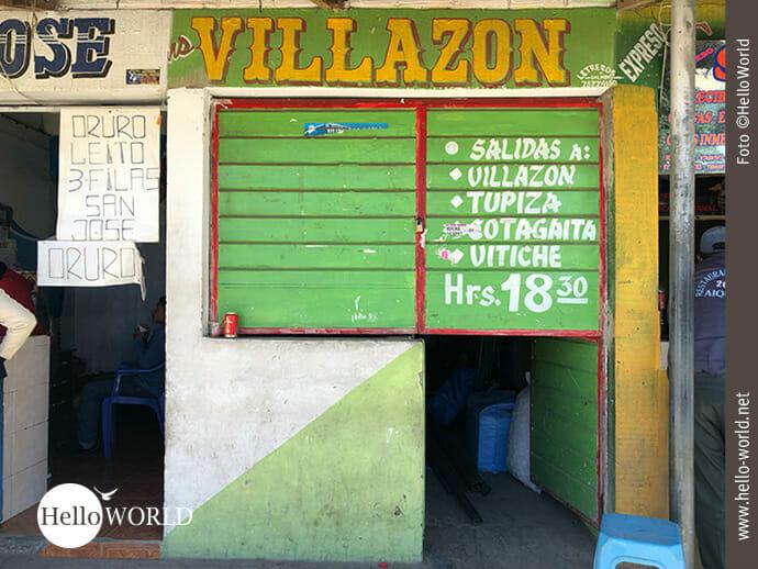 Express- und Frachtdienstleister Villazon