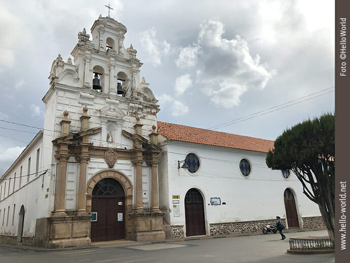 Baujahr 1559: Altehrwürdiges Hospital Santa Barbara, Sucre