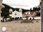 Vorplatz des Klosters La Recoleta Santa Ana
