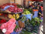 Gemüseverkauf am Straßenrand