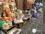 Straßenstand auf dem Mercado Campesino