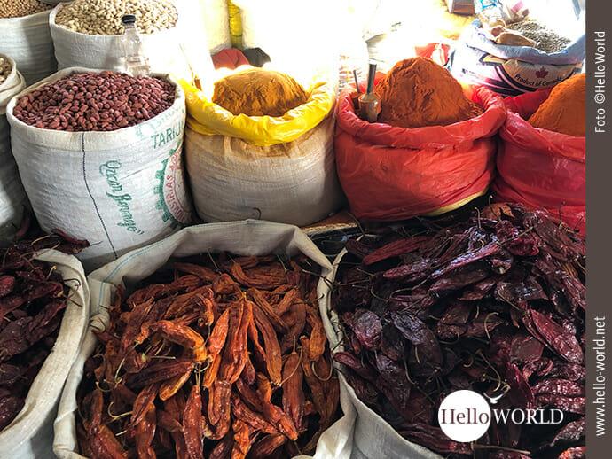 """Einfach """"dufte"""": die Gewürzstände in Südamerika"""