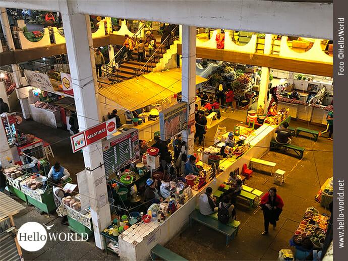 Der Mercado Central in Sucre