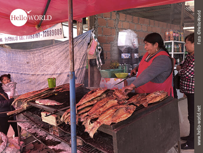 Frisch vom Grill: Streetfood auf dem Mercado el Morro