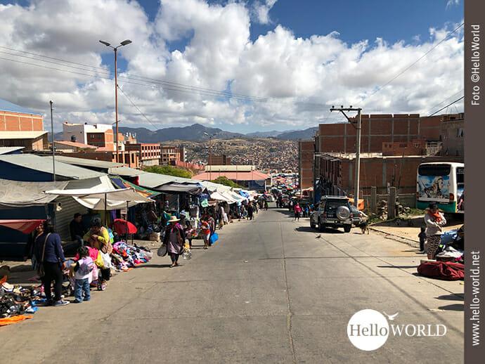 Auf geht es Richtung Mercado el Morro.