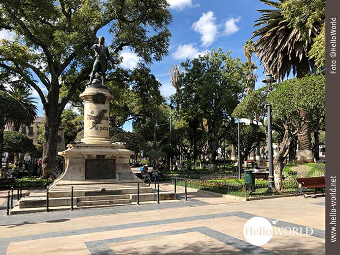 Denkmal des Freiheitskämpfers Antonio José de Sucre