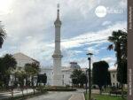 Obelisk am Plaza de la Libertad