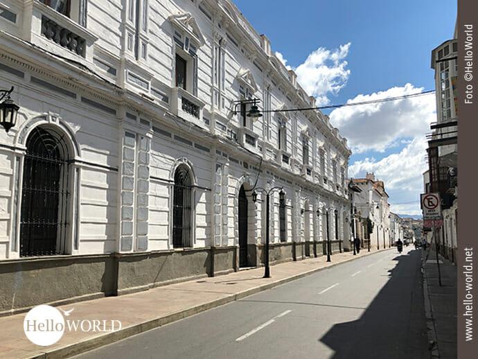 """Ciudad Blanca, die """"weiße Stadt"""" Boliviens"""