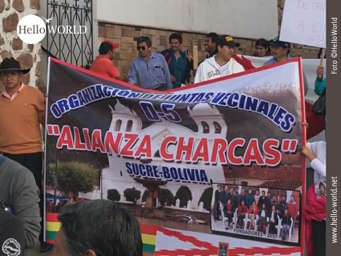 Dabei sind zum Beispiel die Alianza Charcas,...