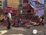 Farbenfroh: Handgewebte Tücher in Tarabuco
