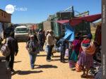 Markttreiben am Ortsrand von Tarabuco