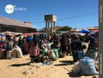 """""""Marktplatz"""" für Grundnahrungsmittel in Tarabuco"""
