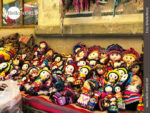 Klein, drollig, bunt: bolivianische Puppen