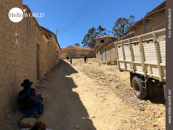 Tarabuco am Rande des Dorfes