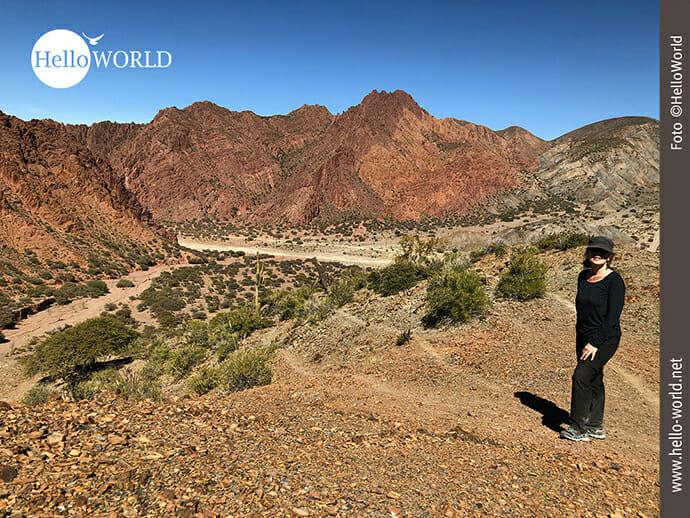 Berglandschaft in Bolivien