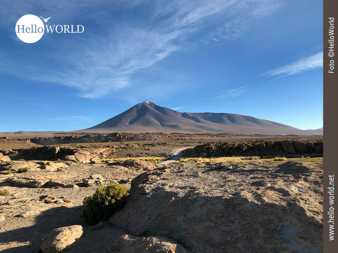 Das Farbspiel der Landschaft Boliviens ist einfach traumhaft.