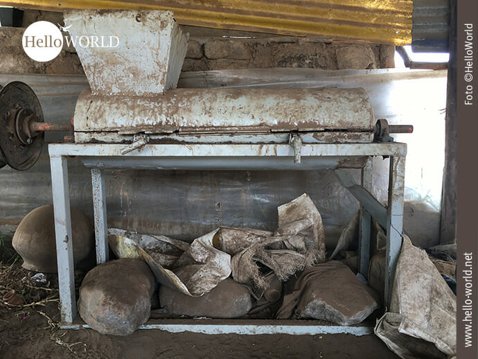 Ton-Misch-Maschine in Ecuador