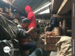Jeder Winkel wird genutzt: Töpferei in Ecuador