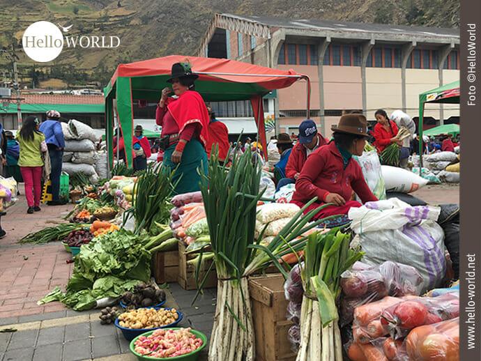 Markt in Ecuador