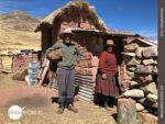 Freundliche Kleinbauern weisen uns den Weg