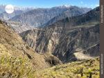 Fernblick über das Colca Tal in Peru