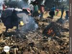 Heiße Angelegenheit: traditionelle Kartoffelernte in Peru