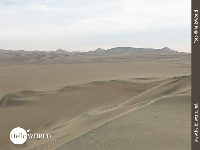 Tolles Motiv: Dünen in der Atacama-Wüste Perus