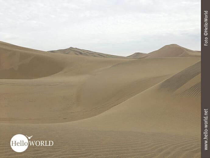 Einladung zur Dünenwanderung in Peru