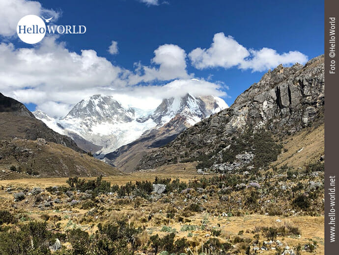 Unterwegs in der Cordillera Blanca in Peru