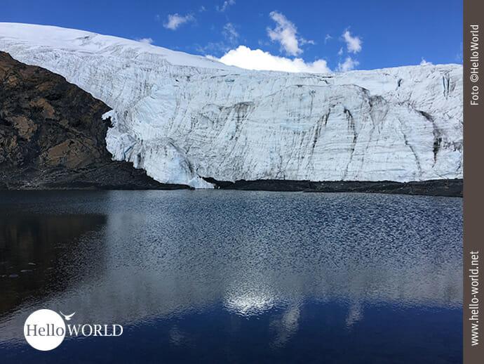 Eiszeit am Pastoruri Gletscher in Peru