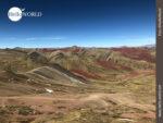 Blick auf das Red Valley Perus