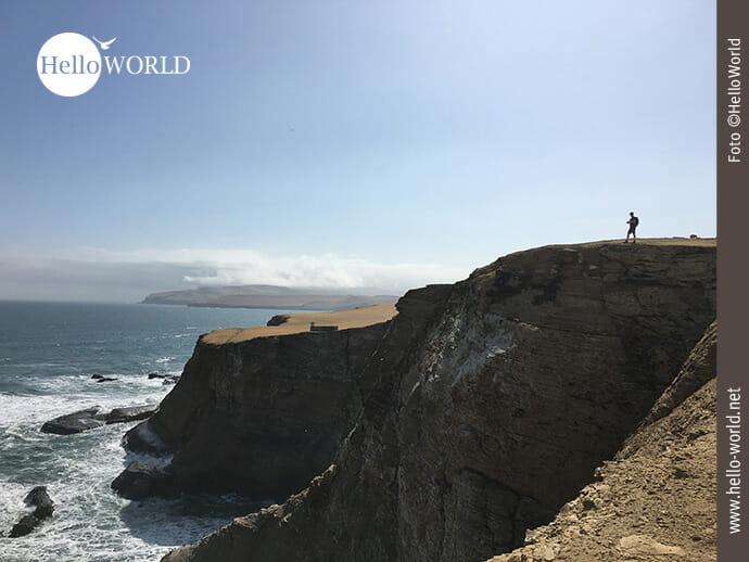 Steilküste im Naturreservat Paracas