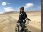 Mit einem PS geht's durch die Wüste Perus