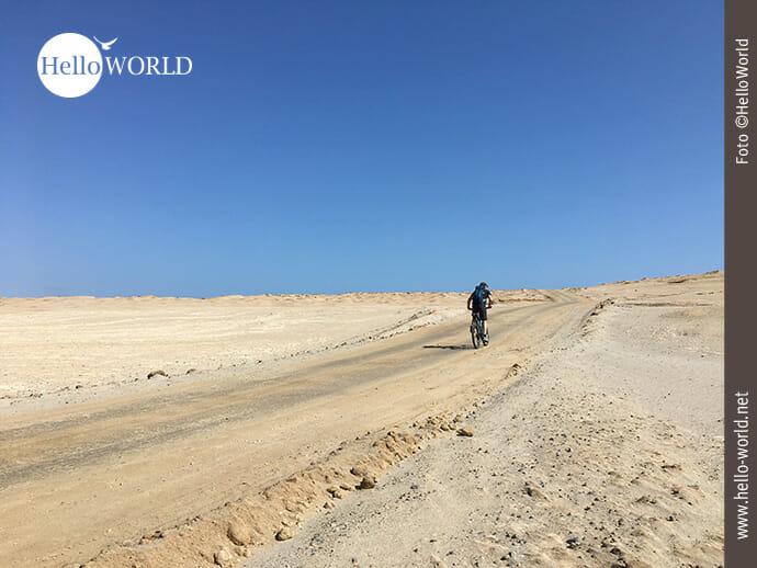 Weit sind die Wege im Nationalreservat Paracas