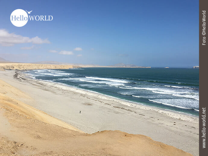 Strandleben im Nationalreservat Paracas