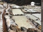 Riesige Salzwasserfarm: die Salinas de Maras in Peru