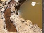 Organisierter Wasserzufluss bei den Salinas de Maras