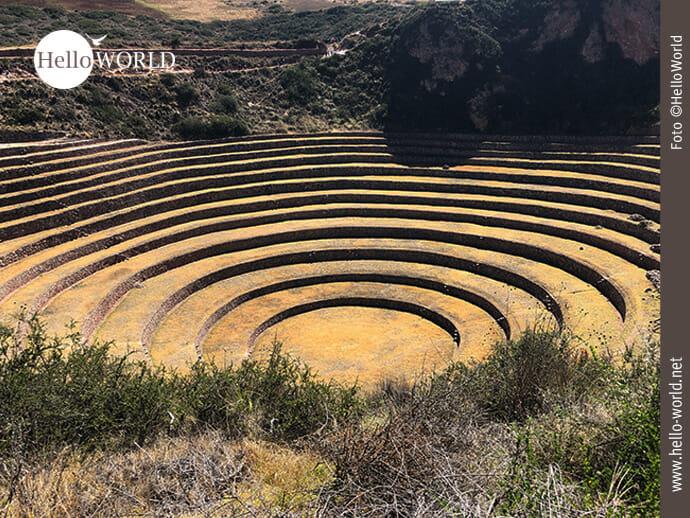 Moray: agrarische Versuchsfläche der Inkas