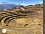Kreisanlage Moray im heiligen Tal der Inka