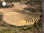Blick auf die Inka-Anlage Moray in Peru