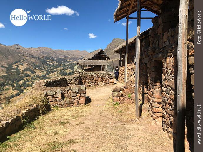 Auf Besichtigungstour im Valle Sagrado in Peru
