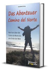 Hier sieht man den Titel vom Buch Das Abenteuer Camino del Norte
