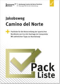 Dies ist der Titel für die Planungshilfe Camino del Norte Packliste.
