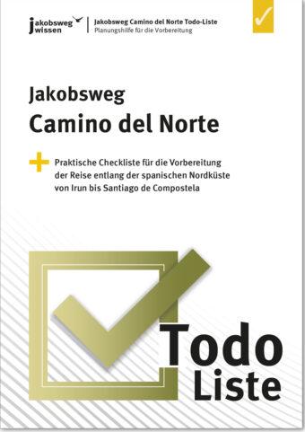 Hier sieht man das Produktbild der Camino del Norte Todo-Liste.