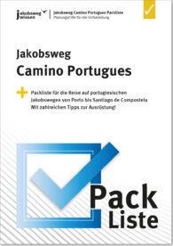 Das ist das Titelbild der Camino Portugues Packliste.