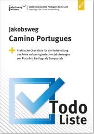 Das ist das Titelbild der Camino Portugues Todo-Liste