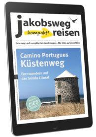 Das ist das Titelbild des eMagazins Camino Portugues Küstenweg Senda Litoral.