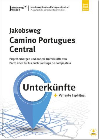 Camino Portugues Central Unterkunftsverzeichnis