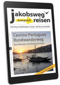 Hier sieht man den Titel des JakobswegReisen kompakt! Magazins.