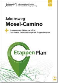 Das ist das Titelbild der Arbeitshilfe für die Mosel Camino Etappenplanung.